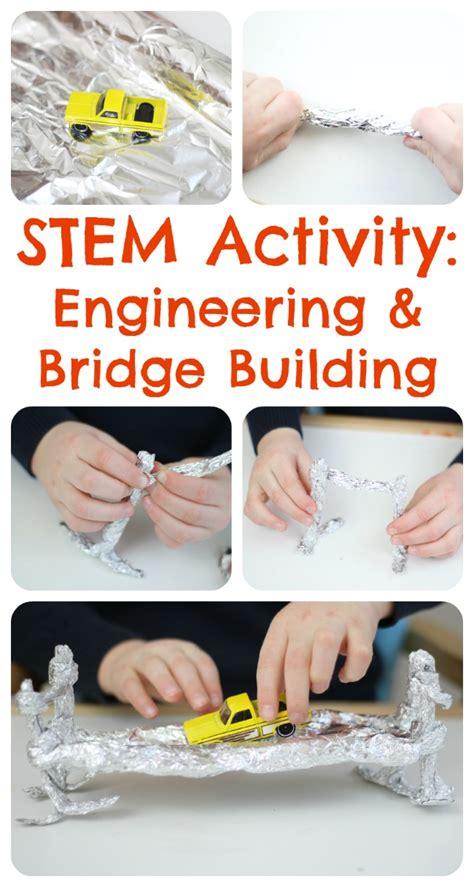 learning bridge preschool engineering with aluminium foil stem activities 274