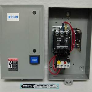 Eaton Magnetic Motor Starter 7 5