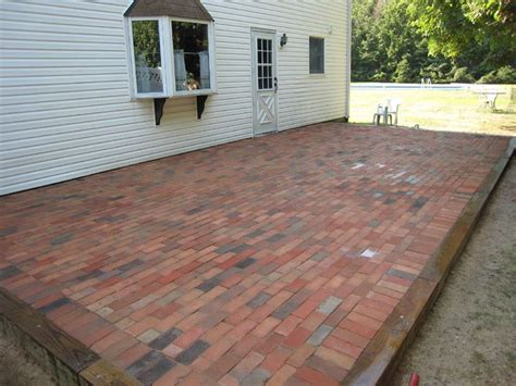 daily diy refresh an concrete patio by covering it in