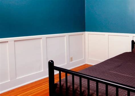 How To Install Recessedpanel Wainscoting  Howtos Diy