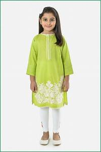 khaadi kids Collection Girls Embroidered Kurta Summer 2016