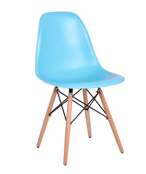 la chaise et bleu chaise design bois pvc coloris bleu lot de 2 luberon chaise design chaise de salle 224