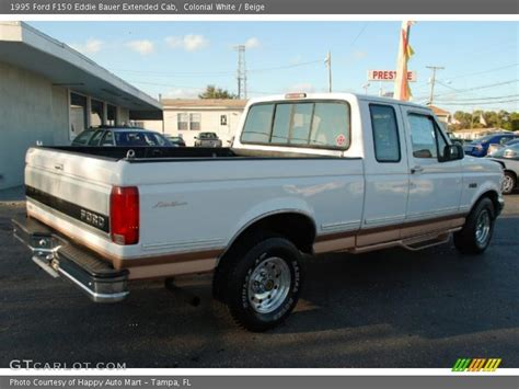 1995 Ford F150 Eddie Bauer Extended Cab in Colonial White