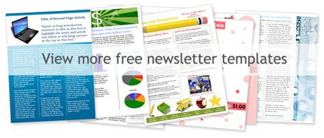 free newsletter templates word church newsletter templates free templates resume