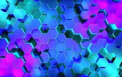 Abstract 4k Hexagon Pattern Wallpapers Geometric Shapes