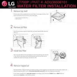 lg ltp ltpc replacement refrigerator water filter