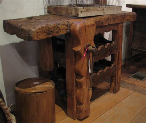 woodwork antique wood workbench  plans