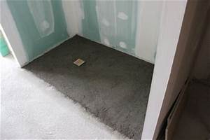 dalle douche italienne meilleures images d39inspiration With prix sous sol maison 8 prix m2 du beton cire