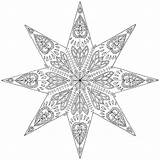 Mandala Pages Coloring Colouring Geometric Mustard Square Min sketch template