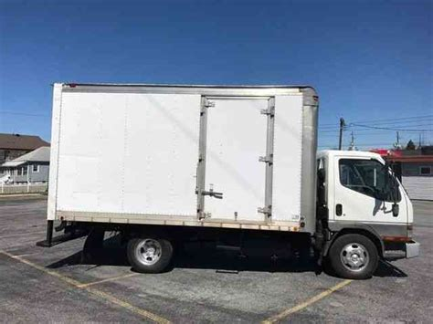 mitsubishi truck 2004 mitsubishi fuso fe 2004 van box trucks