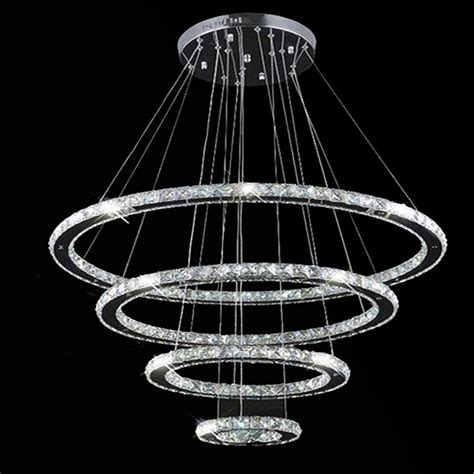 suspension chandelier aliexpress buy vallkin modern led ring chandelier