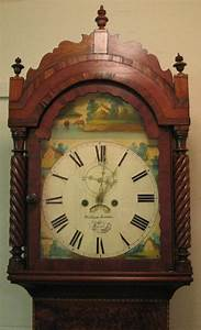Calendar February 2020 January 2020 Antiques Atlas Mahogany Painted Face Grandfather Clock