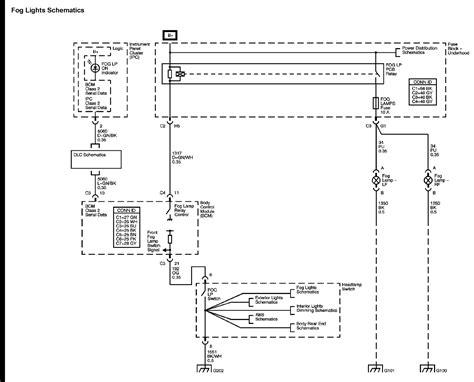 2014 chevy camaro fog lights wiring diagrams wiring