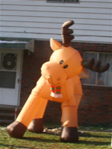 yolloy outdoor giant santa inflatable christmas holiday