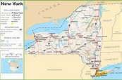 Ny state highway maps and travel information | Download ...