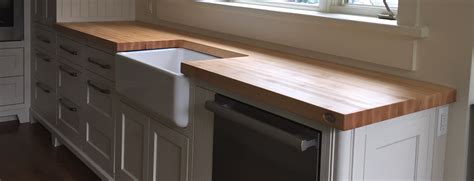comptoir cuisine bois table comptoir bloc de boucher et ilôt en bois massif