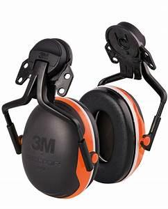 Casque De Protection Auditive : 3m peltor protection auditive coquilles x4 fixer sur le casque kox sarl ~ Melissatoandfro.com Idées de Décoration
