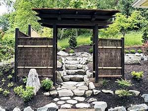 Japanese Garden Woodworks - Wooden Gates - Bamboo Fences