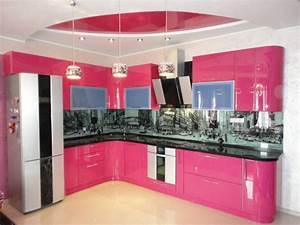 interior design trends 2017 pink kitchen With kitchen cabinet trends 2018 combined with pink floral wall art