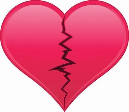 Broken Heart Cartoon Clipart Beating Clip Hearts