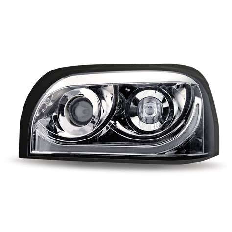 Led Headlights by Ftl Century Chrome Led Projector Headlight Driver Side