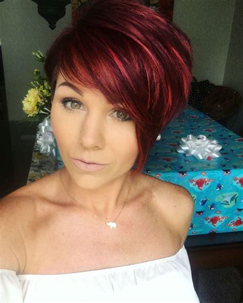 redhair pixie shorthair hairstylesinspiration hair