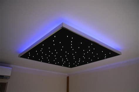 plafond étoilé chambre plafond chambre a coucher 2 etoiles semeur detoiles