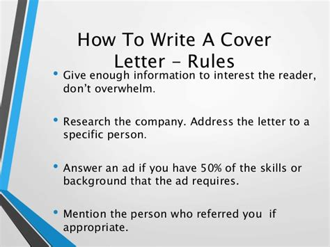 How To Write An Effective Resume by How To Write An Effective Resume