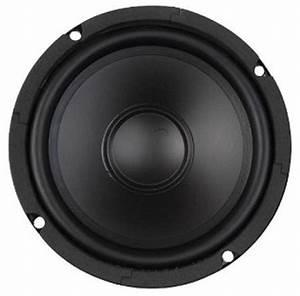 6 2 U0026quot  Home Audio Polypropylene Woofer 8 Ohms Single