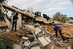 Jerusalem - Israeli Strikes Kill 2 After Gaza Rocket Attack