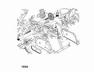 Weslo Model Wlex19940 Cycle Genuine Parts