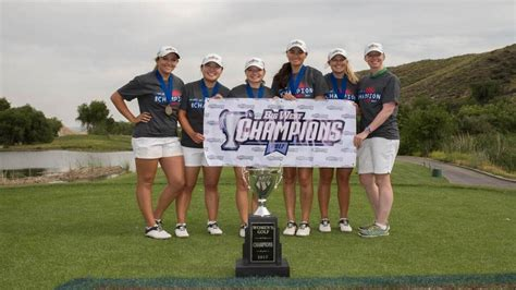 cal poly womens golf captures big west conference championship