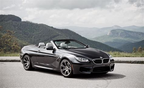 black convertible bmw m6