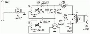 Fm Crystal Radio Receivers  Wiring Diagram