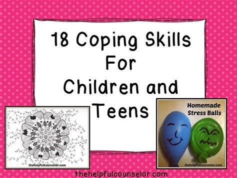35 best coping skills activities for images on 473 | e79fbc2067bcaa44efbf47245344a957 therapy activities play therapy
