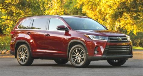 2019 Toyota Highlander Hybrid Limited Platinum Cars