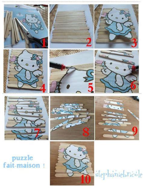 id 233 es d activit 233 s pour les enfants tuto pour faire un petit puzzle hello ou autres