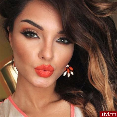 overwhelming orange lip makeup ideas   pretty designs