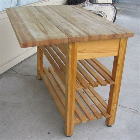 How To Make An Outdoor Butcher's Block