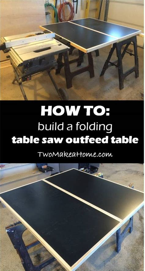 building  folding table  outfeed table    home