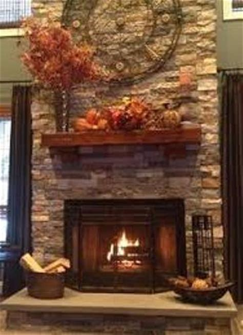 decorate  stone fireplace mantel  guides