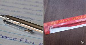 The Real Story Behind The NASA Space Pen And The Soviet ...