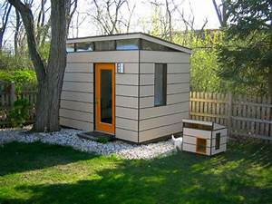 modern shed meets modern dog house dog milk With modern outdoor dog house