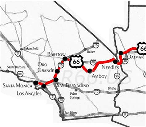 Historic Route 66 Pictures From California On The Road Again A Way Towards The Freedom By
