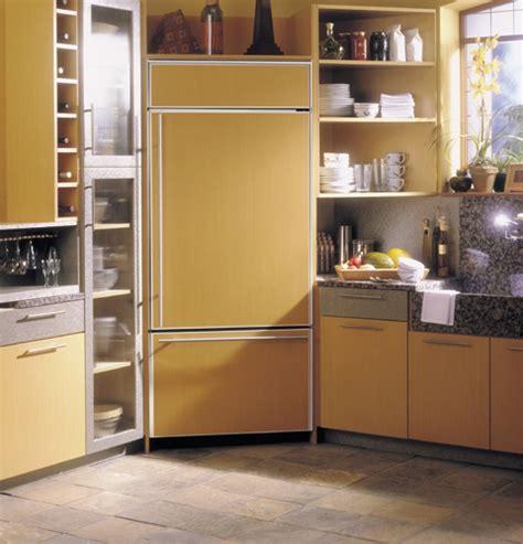 ge monogram  built  bottom freezer refrigerator