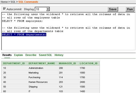 oracle sql query resume update query in oracle sql plus vs sql buildingdedal