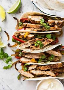 Chicken Fajitas | RecipeTin Eats