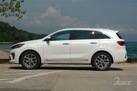 kia sorento sx limited awd review webcarz