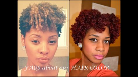 Faqs About Hair Color On Natural Hair