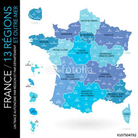 Carte De Avec Les Nouveaux Départements by Quot Carte De 13 R 233 Gions Nouveaux Noms 2016